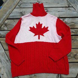 Vintage Parkhurst CANADA turtleneck sweater L